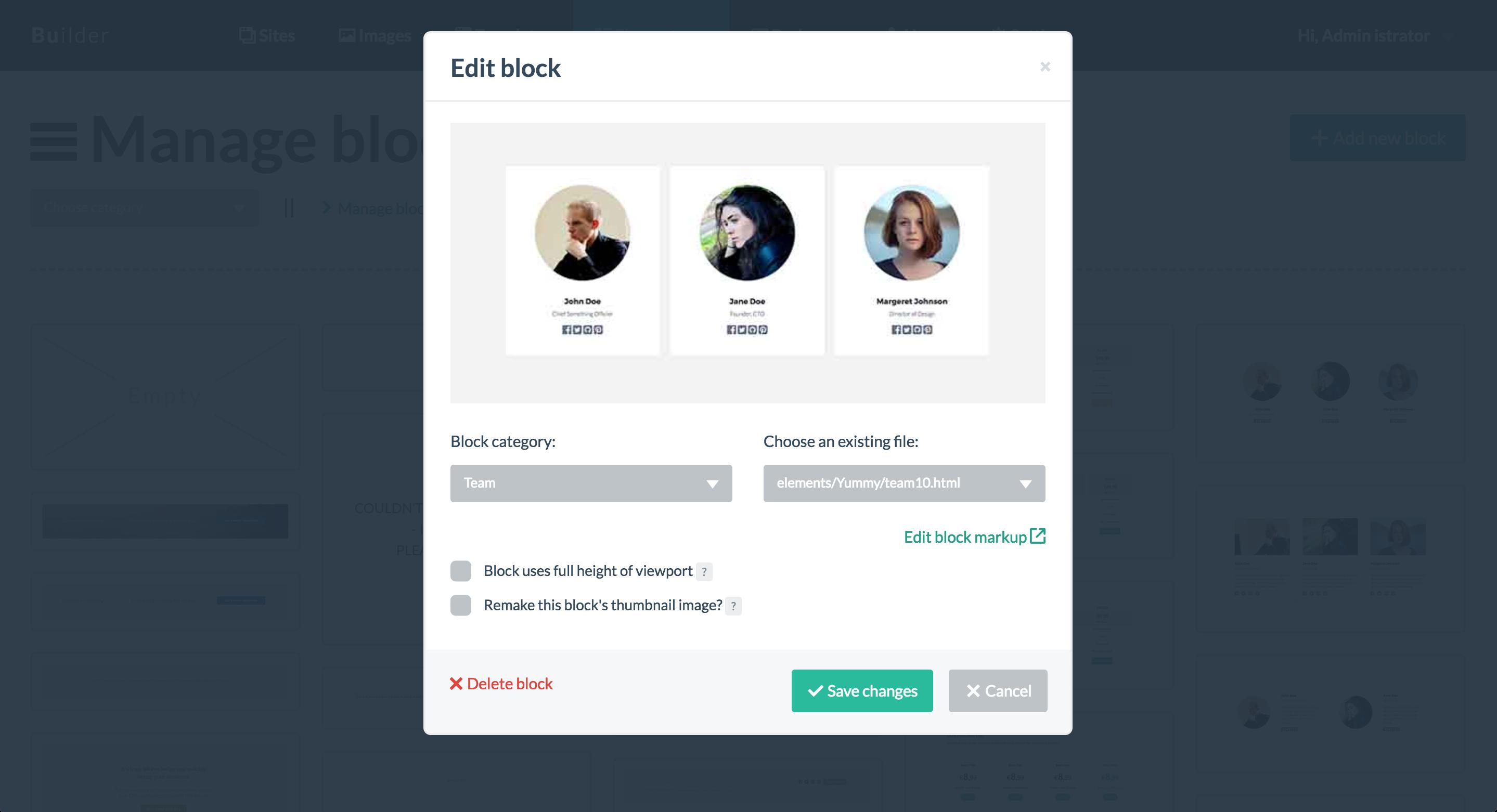 Bloxby Edit Block